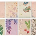■『増島加奈美カレンダー』 2011年  (企画・制作・販売:アートプリントジャパン)