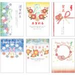 ■2012年 年賀状デザイン ― 日本郵政<画像上段3点> ・ 富士フィルム 『ふくふく年賀 & フジカラー』<下段3点>