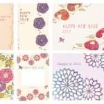 ■2010年 年賀状デザイン ― インプレスジャパン 『あでやか年賀状2010』