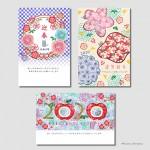 ■2020年 年賀状デザイン ― インプレス  『キラリ☆と輝くおしゃれな年賀状 2020』